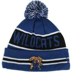Kentucky Wildcats New Era The Coach Pom Knit Beanie