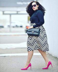 Tanesha awasthi pink heels outfit