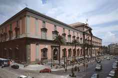 Naples National Archaeological Museum; houses, among many other antiquities, artifacts from Pompeii and Herculaneum