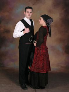 Zagori men's and women's costume