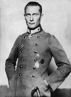"""Hermann Wilhelm Göring (12 January 1893 – 15 October 1946) was a German politician, military leader, and leading member of the Nazi Party (NSDAP). A veteran of World War I as an ace fighter pilot, he was a recipient of the coveted Pour le Mérite, also known as the """"Blue Max"""". On 7 July 1918, following the death of Wilhelm Reinhard, successor to Manfred von Richthofen, he became the last commander of Jagdgeschwader 1, the famed """"Flying Circus"""". He finished WWI with 22 victories."""