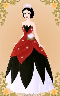Snow White as Tiana - disney-princess Photo