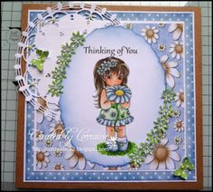 Daisy Girl http://www.missdaisystamps.com/?product=daisy-girl on card sample designed by Lorraine http://www.coldwaters2.blogspot.nl