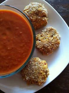 Toasty Pumpkin Chickpea Fritters by Kathy Patalsky