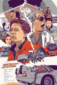 Retour vers le futur, un vrai classique indémodable !http://sala7design.com.br/2015/07/cartazes-alternativos-do-filme-de-volta-para-o-futuro.html