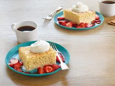 Tres Leches Cake with Berries Recipe | Ina Garten | Food Network
