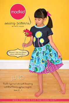Beginner sewist can make this pretty double layered twirl skirt for your LITTLE GIRLS! http://etsy.me/x0quju via @Etsy