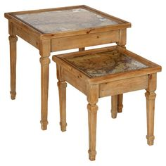 2-Piece Cartographe Nesting Table Set