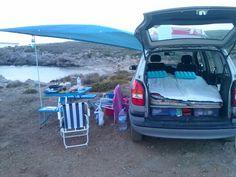 Camping con opel zafira