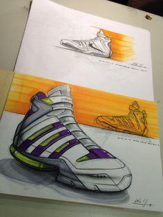 Sneaker sketch-Vic yang sketch