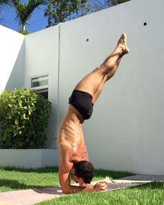 yogawithmii: Twisting and leaning sideways while... - Yoga & Men
