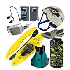 Ready for Whitewater Kayaking #rockcreek