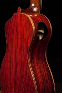 Lichty Cocobolo Kīkū, handcrafted by luthier Jay Lichty, Lichty Guitars