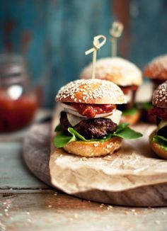 Cute and easy nibbles to offer for friends coming round to watch a game of rugby!