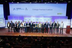 Las startups más innovadoras se dan cita en los Premios EmprendedorXXI - presentado por @infocaixa