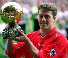 MICHAEL OWEN Liverpool winner ballon d'or 2001