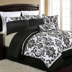 Victoria Classics Daniella 8 Piece Comforter Set for guest bedroom with Ansel Adams prints