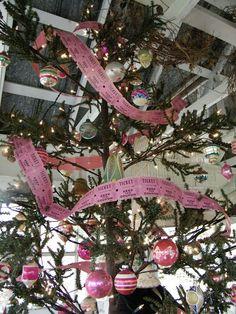 ticket tree garland