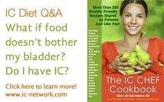 What if food doesn't bother my bladder? Do I have IC?