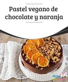 Pastel vegano de chocolate y naranja  El veganismo es una rama del vegetarianismo que consiste en no comer ningún producto animal ni tampoco que proceda de este. Esto quiere decir que además de no comer ningún tipo de carne ni pescado,