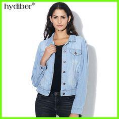 New Arrival Spring Winter Short Denim Jackets Vintage Casual Coat Autumn Denim Jacket For Women Jeans Plus Size 4XL Z6