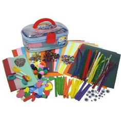 mister maker craft kit. great birthday idea. We love these