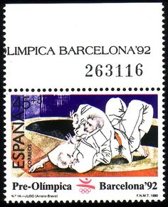 Stamp from Spain Barcelona, Summer Dream, Vintage Stamps, Writing Paper, Stamp Collecting, Olympic Games, Olympics, Portugal, Sports