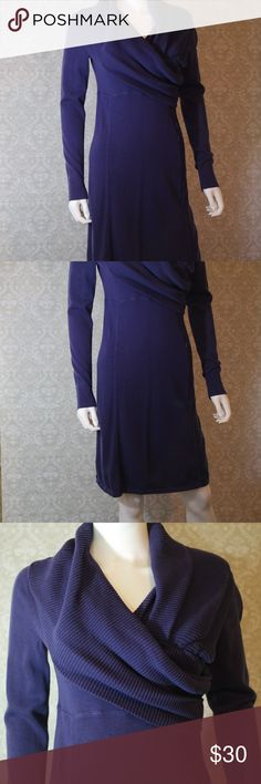 Purple Athleta Sweater Dress Size S Gorgeous soft purple Athleta sweater dress.  Excellent pre-loved condition.  Size S.  Bundle your likes for my best offer.  Thank you for shopping my closet.  :0) (F) Athleta Dresses