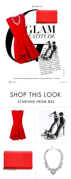 """Glam in red"" by mandy1108 on Polyvore featuring Alexander McQueen, Givenchy and Lulu*s"