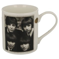 LESSER & PAVEY  ICON COLLECTION FINE CHINA MUG  THE BEATLES   STYLE - LP92019