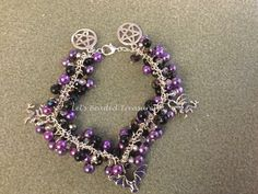 A personal favourite from my Etsy shop https://www.etsy.com/uk/listing/291045387/pagan-style-charm-bracelet
