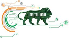 technology posters - How Successful was Digital India, so far Technology Posters, Digital Technology, New Technology, Digital India Posters, India Logo, Online Data Entry, What Is Digital, News Website, Program Design