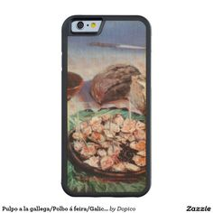 Pulpo a la gallega/Polbo á feira/Galician octopus Funda De iPhone 6 Bumper Arce
