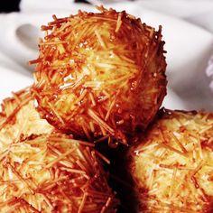 These sweet potato treats are crispy, cream cheesy perfections in every bite.