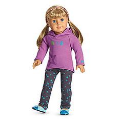 NEW! Starry Hoodie Outfit for Dolls