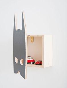 Wandschrank Batman von That´s Mine - cooler Wandschrank für das Kinderzimmer! Sehr dekorativ!