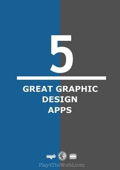 5 Great Graphic Design Apps great resource