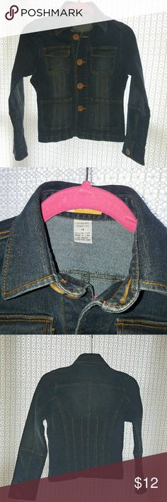 Tulle PS Jean Jacket Tulle Jean Jacket  Size: PS  Excellent condition. Tulle Jackets & Coats Jean Jackets