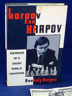 Chess Book Karpov on Karpov Memoirs Chess World Champion 1st Edition Hardcover Toys & Hobbies:Games:Chess:Contemporary Chess www.internetauctionservicesllc.com $59.99