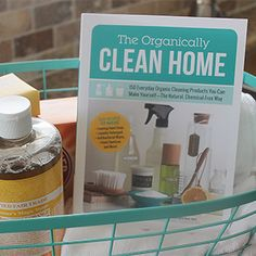 the organically clean home- cleaner with vodka, white vinegar, distilled water, and EOs