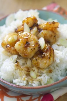 Honey Sriracha Shrimp Bowl Recipe