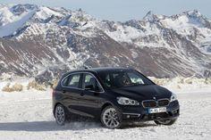 #BMW #F45 #220d #xDrive #active #Tourer #Snow #Drift #Winter