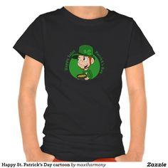 Happy St. Patrick's Day cartoon Shirt
