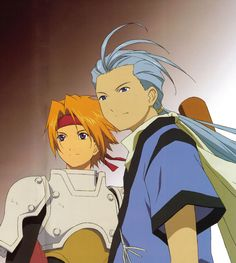 Cless and Chester - Tales of Phantasia The Animation (the Anime series)