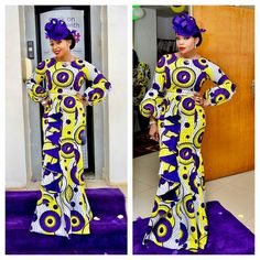 """313 Likes, 3 Comments - Select A Style (@selectastyle) on Instagram: """"@mademoiselle_ozzy_okoye fabric from @houseofderiole"""""""