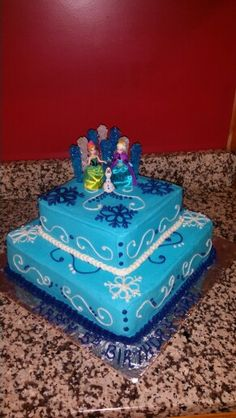 Frozen theme birthday