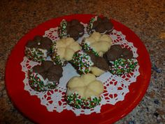 Recipe for Egyptian Petit Fours - perfect Christmas cookies