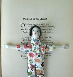OOAK/ Handmade Art Doll / Daisy.  via Etsy.