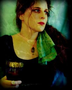 Lady with Goblet PreRaphaelite Style Photographic by MerlePaceArts, $45.00