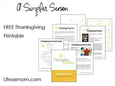 Thanksgiving Planning Tips & Printables | Life as Mom
